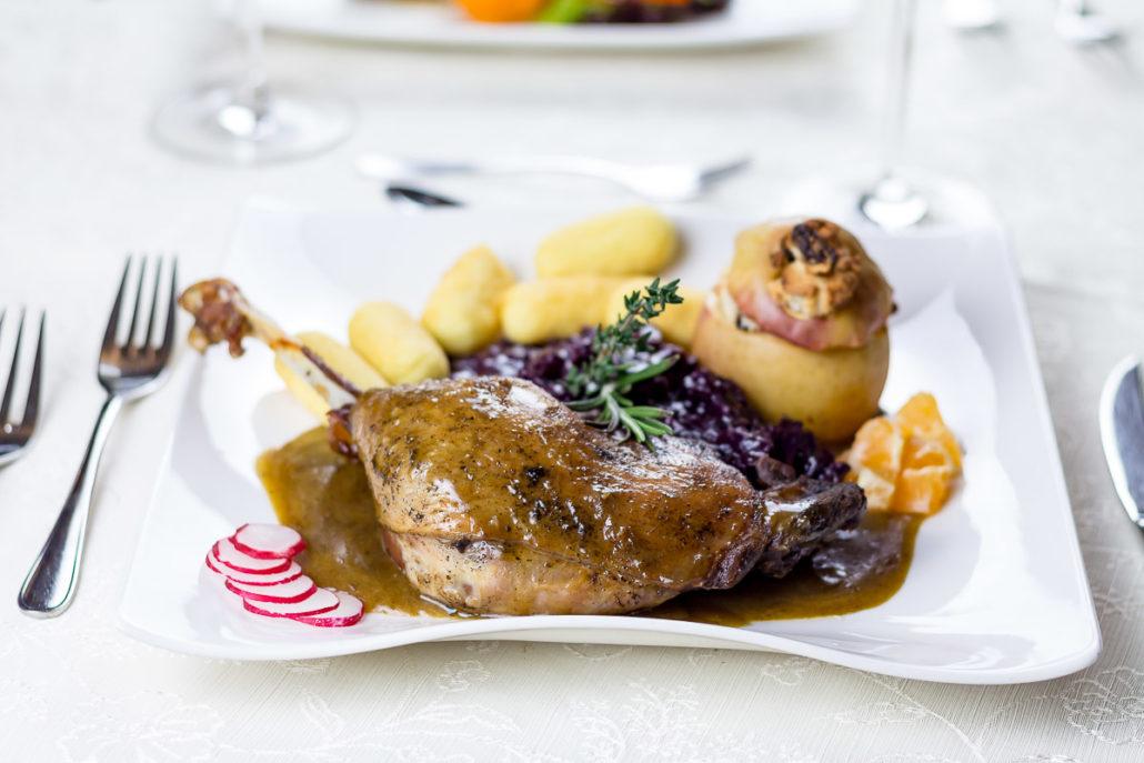 Essen in charmanter Umgebung - im Restaurant Landhaus zur Issel