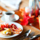 Thementage Brunch Landhaus zur Issel Isselburg Bocholt Anholt Speisekarte Essen gehen Biergarten gut bürgerliche Küche Hotelzimmer Zimmer buchen