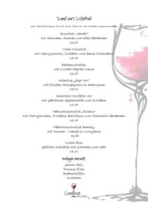 Schnitzelkarte Restaurant Landhaus zur Issel Bocholt Isselburg Schnitzel günstig essen